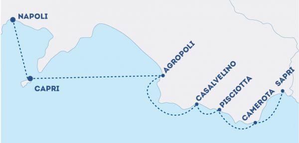 Aliscafo Capri Agropoli
