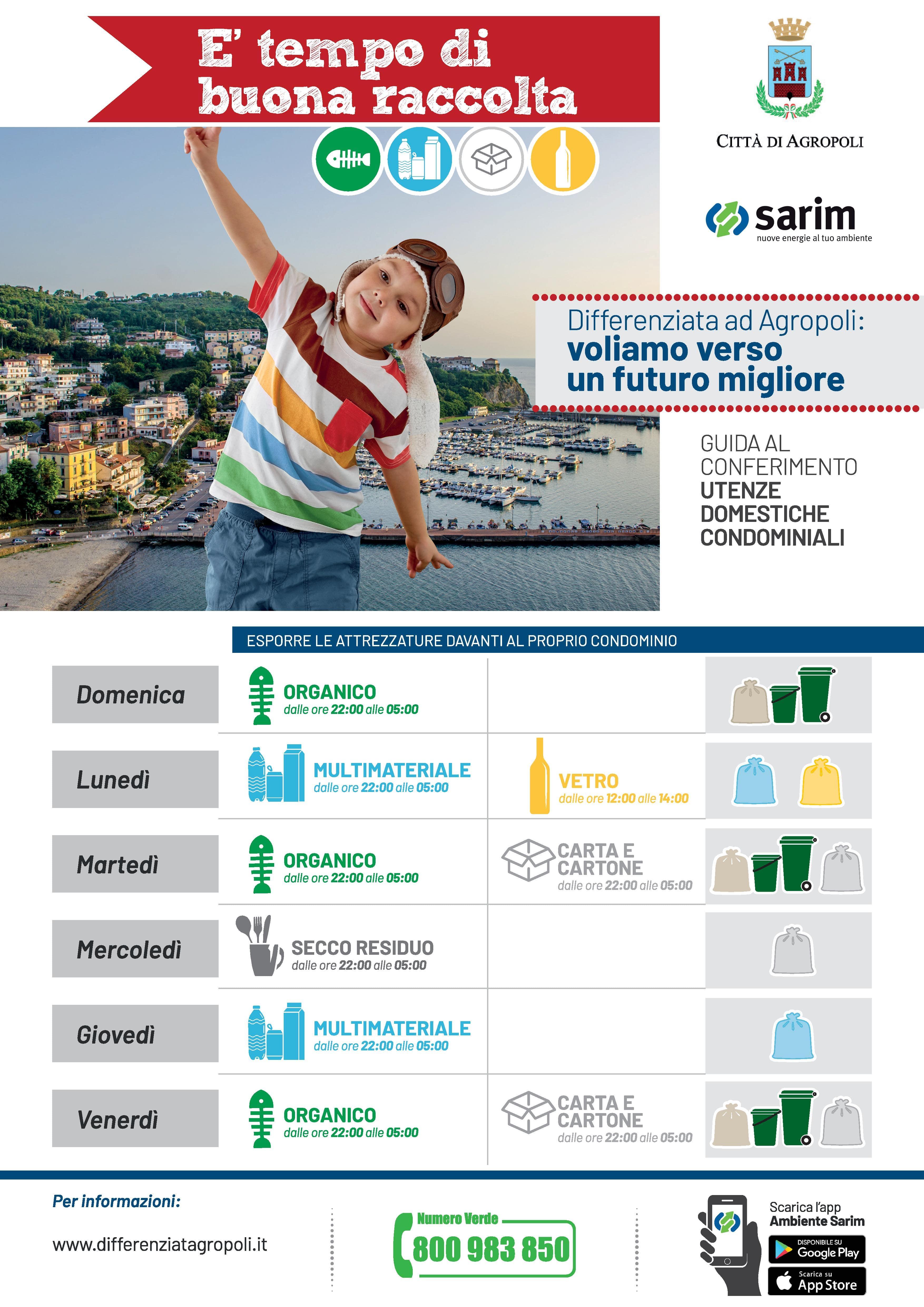 Calendario Raccolta Differenziata Città di Agropoli